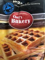 Chef's Bakery Wafelmix Belgische wafels - 1 kg