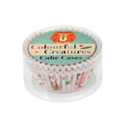 Cupcake Vormpjes Dieren - 50 stuks