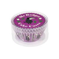 Cupcake Vormpjes Mr Badger - 50 stuks