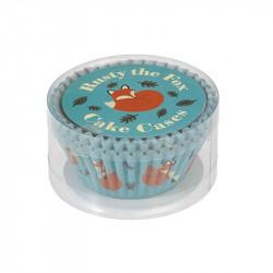 Cupcake Vormpjes Rusty the Fox - 50 stuks