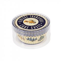 Cupcake Vormpjes Voertuigen - 50 stuks