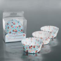 Cupcake Vormpjes Woodland Paddenstoel - 60 stuks