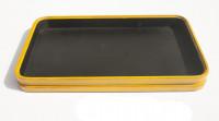 Dienblad geel rechthoek schoolbord