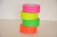 Fluor Tape (Blacklight Tape) - 50 mm x 25 meter