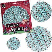 Onderleggers Dolly Girl - 36 stuks