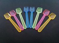 Plastic ijslepels 250 stuks