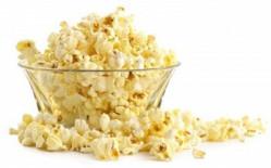 Popcorn pakket 100 porties + Suikerspin pakket 100 stuks (incl. zakjes en stokjes)