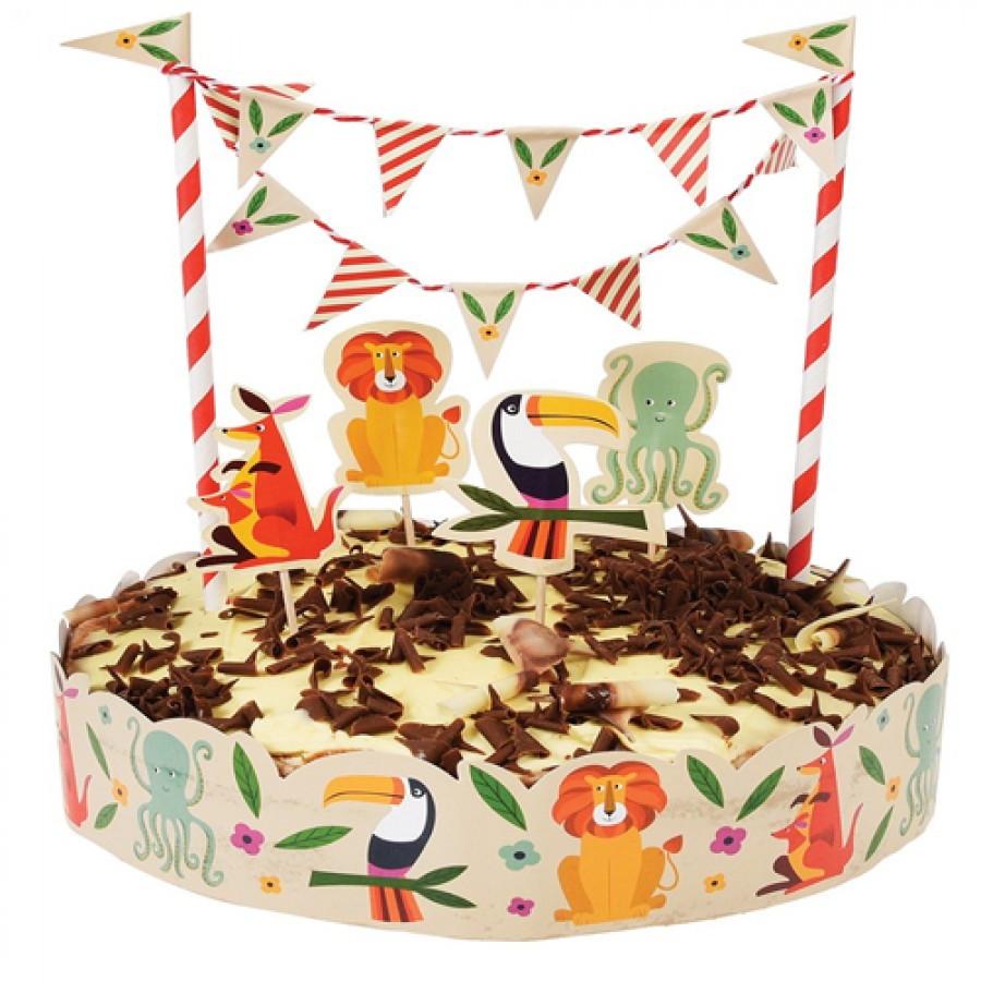 Taartdecoratie dieren taartdecoratie bakken for Taart en decoratie