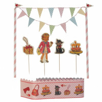 Taartdecoratie DressUp Dolly