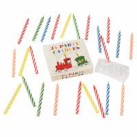 Verschillende Verjaardagskaarsjes - 24 stuks